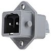 Hirschmann, ST Panel Mount 2P Industrial Power Plug,