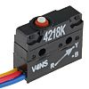SP-NO/NC Plunger Microswitch, 5 A @ 250 V