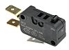 SPDT-NO/NC Button Microswitch, 16 A @ 250 V ac