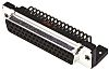 Harting D-Sub Standard Series, 50 Way Right Angle
