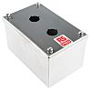 RS PRO Stainless Steel Push Button Enclosure -