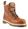 Dr Martens Icon 7B10 Brown Steel Toe Cap