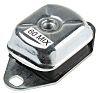 RS PRO M12 Zinc Plated Steel Anti Vibration