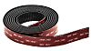 3M SJ3870, Black Hook Tape, 25mm x 2.5m