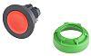 Schneider Electric Flush Red Push Button Head -