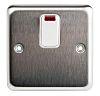White 20 A Flush Mount Light Switch White,