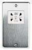MK Electric Silver 1 Gang Shaver Socket, 4P