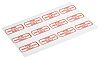 RS PRO Adhesive Pre-Printed Adhesive Label-For Indication Only-.