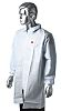 3M White Unisex Disposable Lab Coat, S