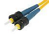 Amphenol Socapex Single Mode Fibre Optic Cable ST