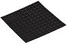 RS PRO Square Anti Vibration Mount 0 Compression