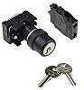 Siemens 2 Position Key Key Switch Complete -