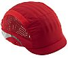 JSP Red Long Bump Cap, HDPE Protective Material
