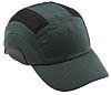 JSP Green Standard Peak Bump Cap, HDPE Protective