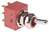 C & K DPDT Toggle Switch, Latching, Panel