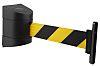 Wall Clip in black 4.6m yellow/ black