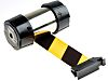 RS PRO Black & Yellow Wall Mounted Retractable