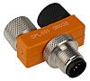Alpha Wire 5 Pole M12 Plug to 10