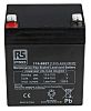 RS PRO Lead Acid Battery - 12V, 5.4Ah