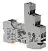 Phoenix Contact Relay Socket, DIN Rail, 250V ac/dc