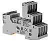 Phoenix Contact Relay Socket, DIN Rail, 250V ac/dc