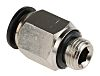 RS PRO Threaded-to-Tube Pneumatic Fitting G 1/8 to