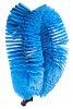 Vikan Blue 55mm Polyester Soft Scrubbing Brush for