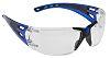 JSP Anti-Mist UV Safety Glasses, Clear Polycarbonate Lens,