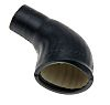 TE Connectivity Cable Boot Black, Elastomer Adhesive Lined,