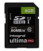 Integral Memory 8 GB SDHC Micro SD Card