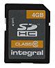 Integral Memory 4 GB SDHC Micro SD Card