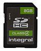 Integral Memory 8 GB SDHC SD Card