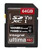 Integral Memory 64 GB SDXC Micro SD Card