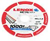 Lenox Aluminium Oxide Cutting Disc, 115mm x 1.3mm