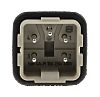 HARTING Han A Heavy Duty Power Connector Insert, 4 contacts, 10A, Male