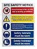 RS PRO Dangerous Hazard Warning Sign (English)