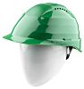 Alpha Solway Rockman Green Hard Hats, Ventilated