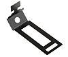 RS PRO Cable Clip Black Screw Steel Conduit
