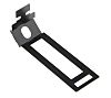 RS PRO Cable Clip Black Screw Steel Conduit