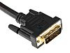 RS PRO Dual Link DVI-D to DVI-D Cable,