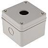 RS PRO Grey Plastic Push Button Enclosure -