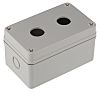 RS PRO Grey Plastic Push Button Enclosure -