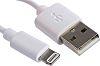 RS PRO Male USB A to Lightning Lightning
