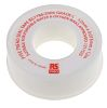 RS PRO White PTFE Tape 12mm x 12m x 0.075mm