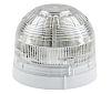 Klaxon Clear LED Beacon, 17 → 60 V