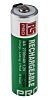 RS PRO AA NiMH Rechargeable AA Battery, 2.7Ah,