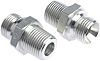 Parker Hydraulic Straight Threaded Adapter 8F3MK4S, Connector A