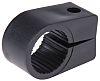 RS PRO Cable Clip Black Screw PE Cable Clip, 22.8mm Max. Bundle