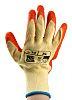 RS PRO, Orange Latex Coated Work Gloves, Size
