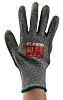 RS PRO, Grey Polyurethane Coated Work Gloves, Size